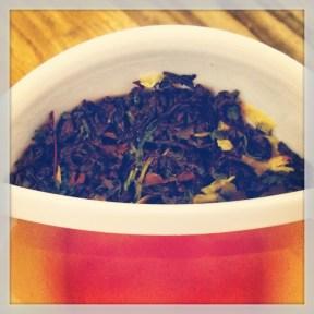 Wet Leaves & Brewed Tea