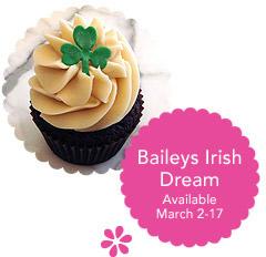 Hello Cupcake's Bailey's Irish Dream Cupcakes