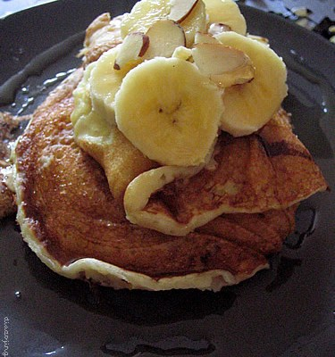Buttermilk Banana Pancakes