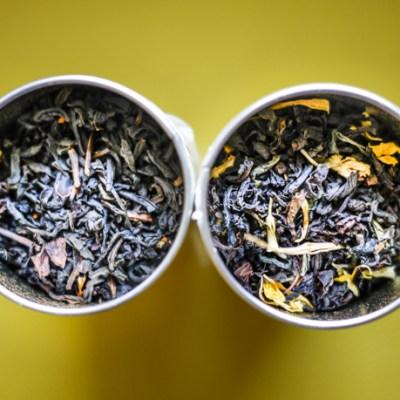 The Persimmon Tree® Tea Company: Lychee Burst & Jasmine Passion