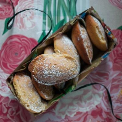 Earl Grey Madelines