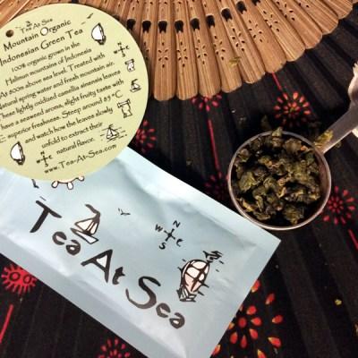 Tea at Sea: Mountain Organic Indonesian Green Tea