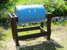 Why buy a composter when you can make one from recycled materials?