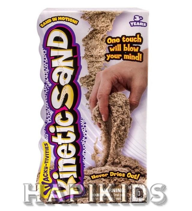 Кинетический песок коричневый