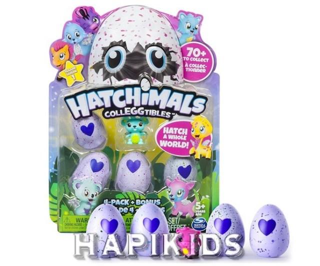 Новые Hatchimals