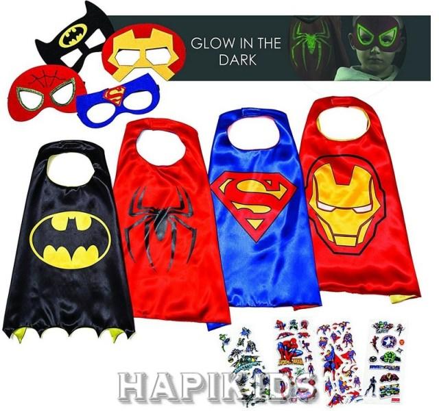 Супер геройские костюмы для детей