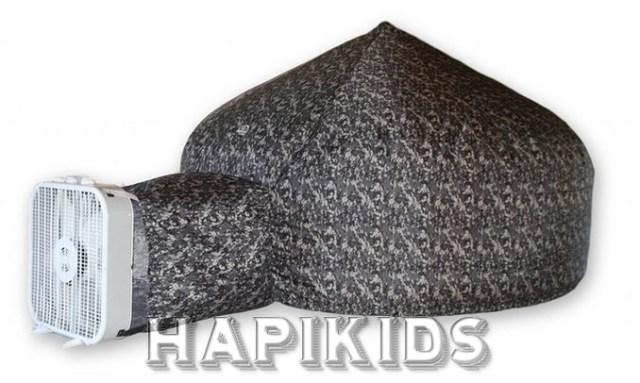 Надувной (за 30 секунд) Воздушный форт для детей