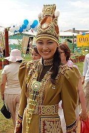 Yakut woman in Yakutsk - Wikipedia