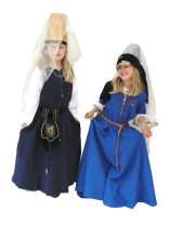 Medieval Ladies, KS1 Castle workshop