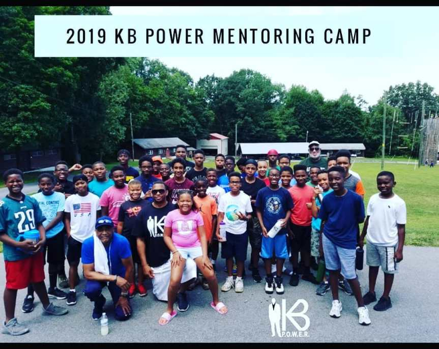 4th Year for K.B. P.O.W.E.R. Mentoring Camp