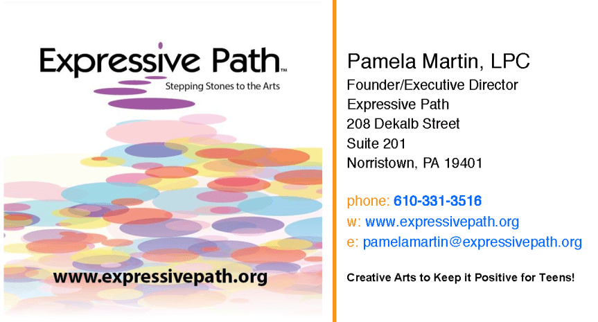 Expressive Path to host Annual Fundraiser, ARTS IN THE PARK, September 7th in Norristown