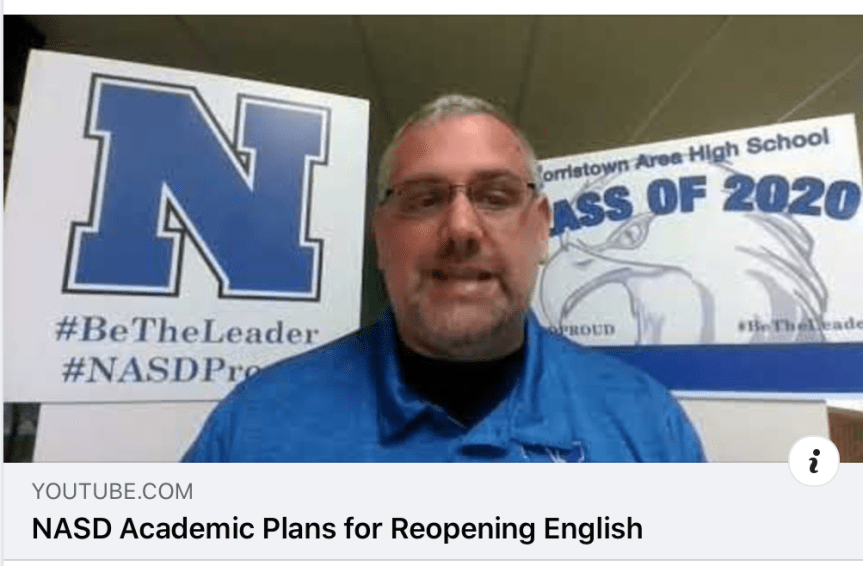 NASD Delays In-Person Classes to 2021: Norristown Area School District decides to offer only virtual instruction for all students through January 2021