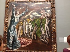 El Greco, The Vision of St. John, ca. 1608-1614. On view in El Greco in New York