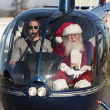 Santa Claus Fly-In the Pacific Coast Air Museum
