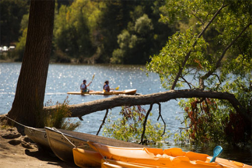 Kayak rental at Spring Lake Regional Park