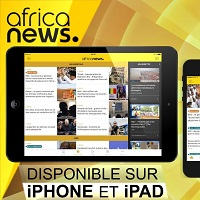 Africanews application mobile iOS 200x200