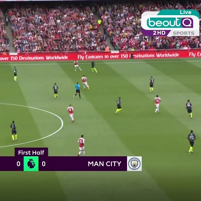 beoutQ Arsenal vs Man-City 400x400