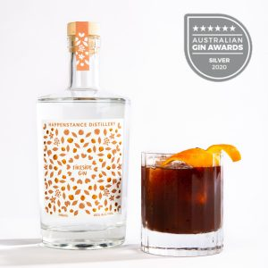 Happenstance Distillery Fireside Gin bottle