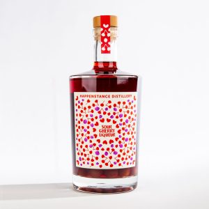 Sour Cherry liqueur bottle