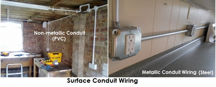 How to Install Concealed Conduit Electrical Wiring System Properly     Surface Conduit Installation