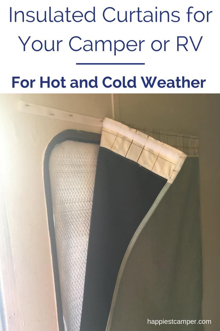 rv window coverings for temperature control