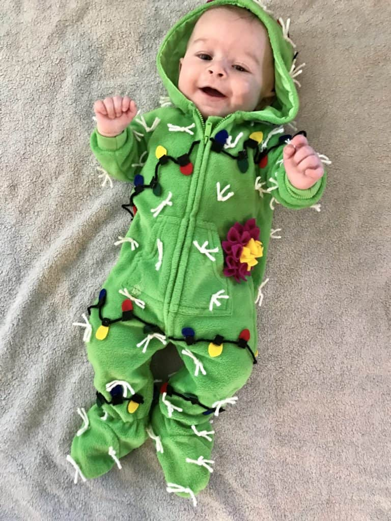 Infant Cactus Costume w Lights