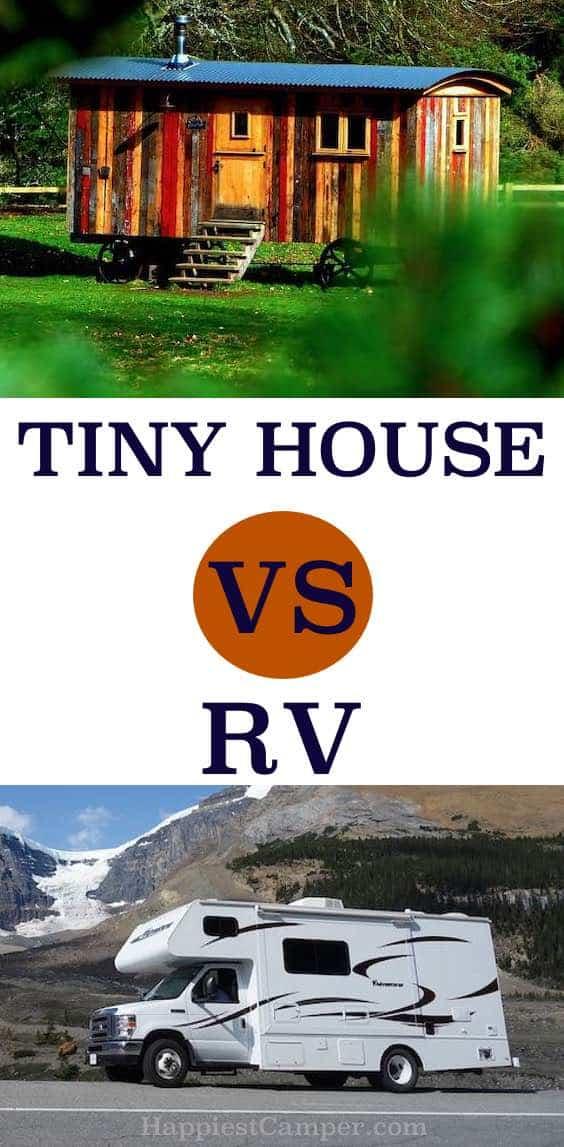 Tiny House vs RV Pin