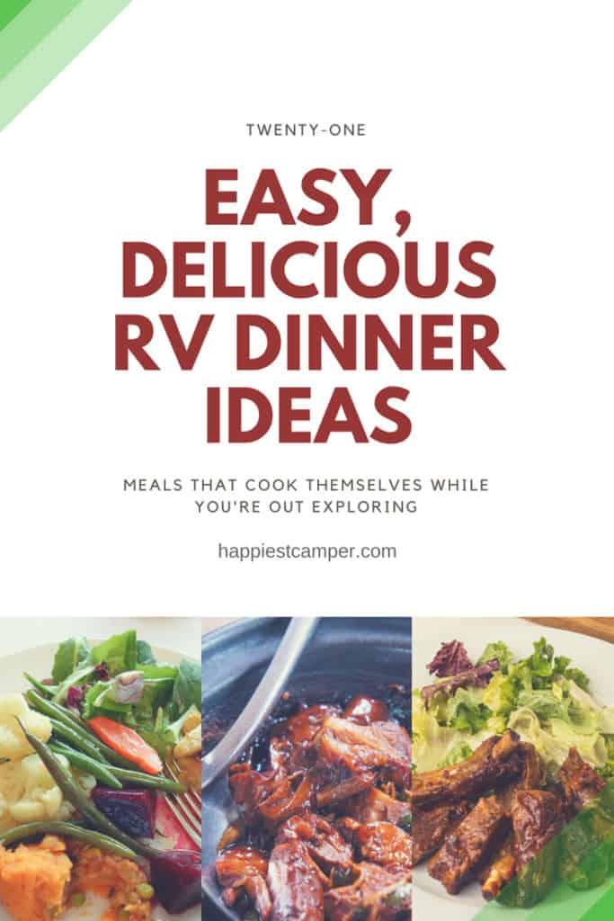 Easy, Delicious RV Dinner Ideas