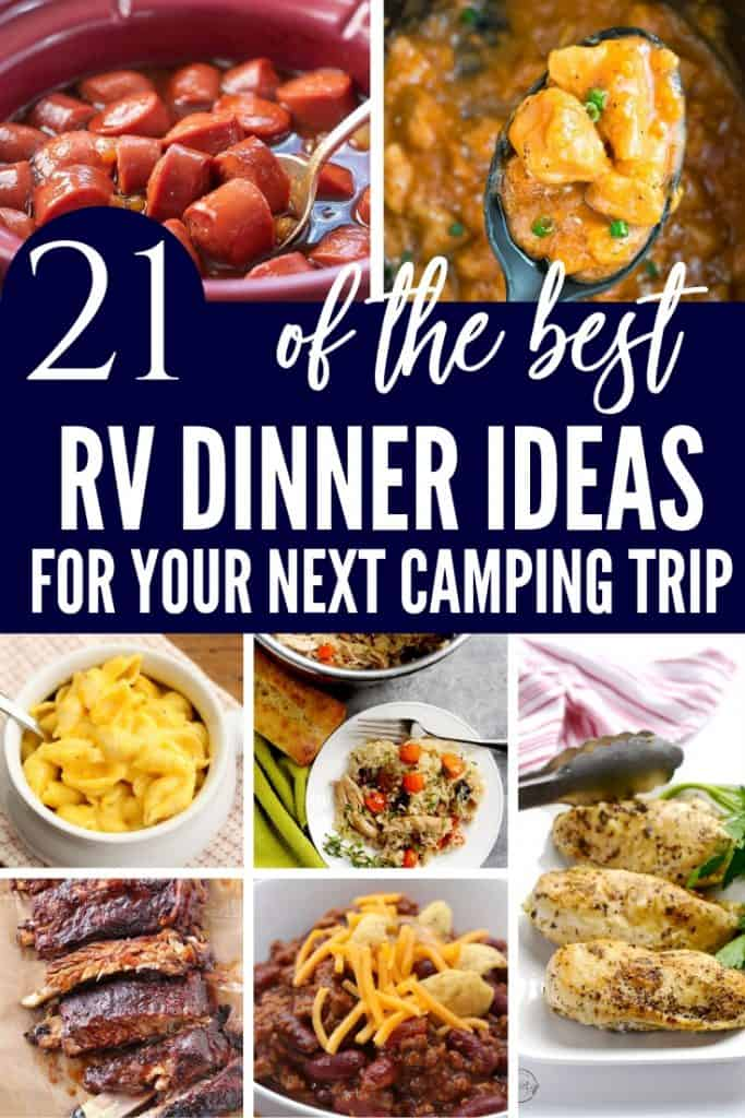 RV DINNER IDEAS FOR YOUR NEXT CAMPING TRIP