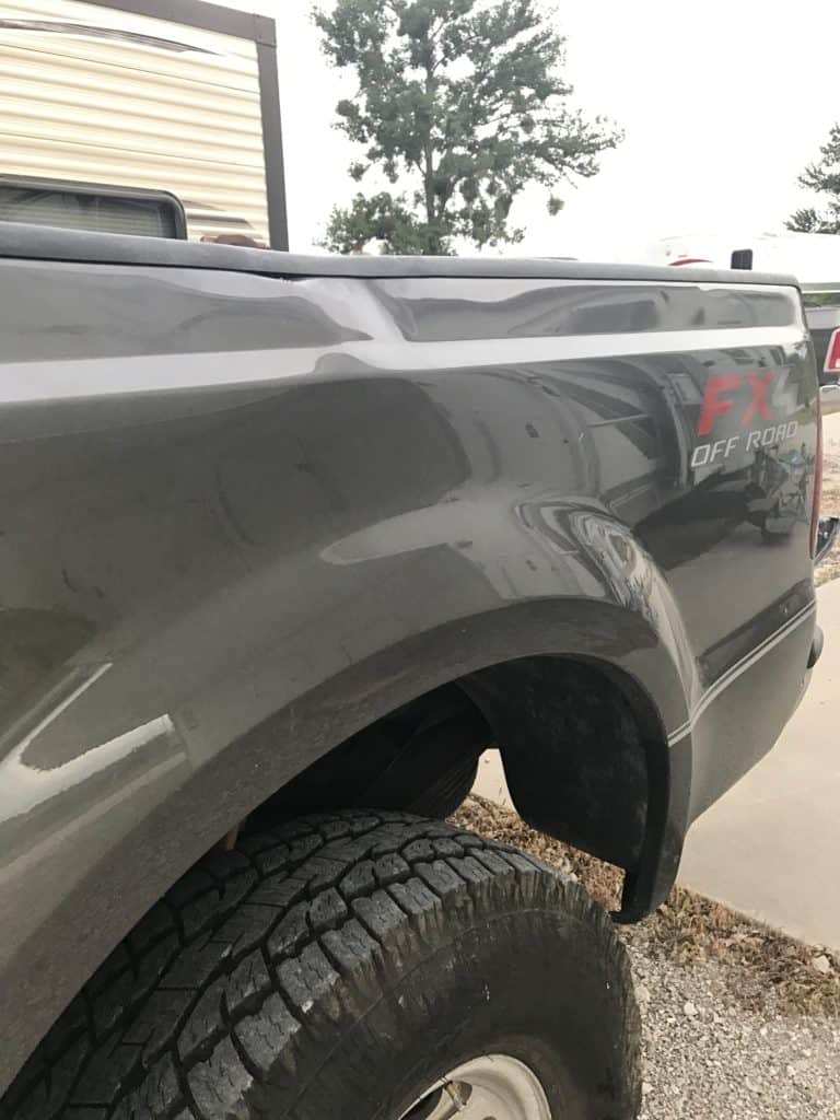 Truck & RV Totaled Ford F250 Superduty