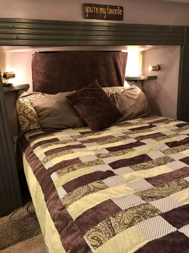 RV Makeover Bedroom