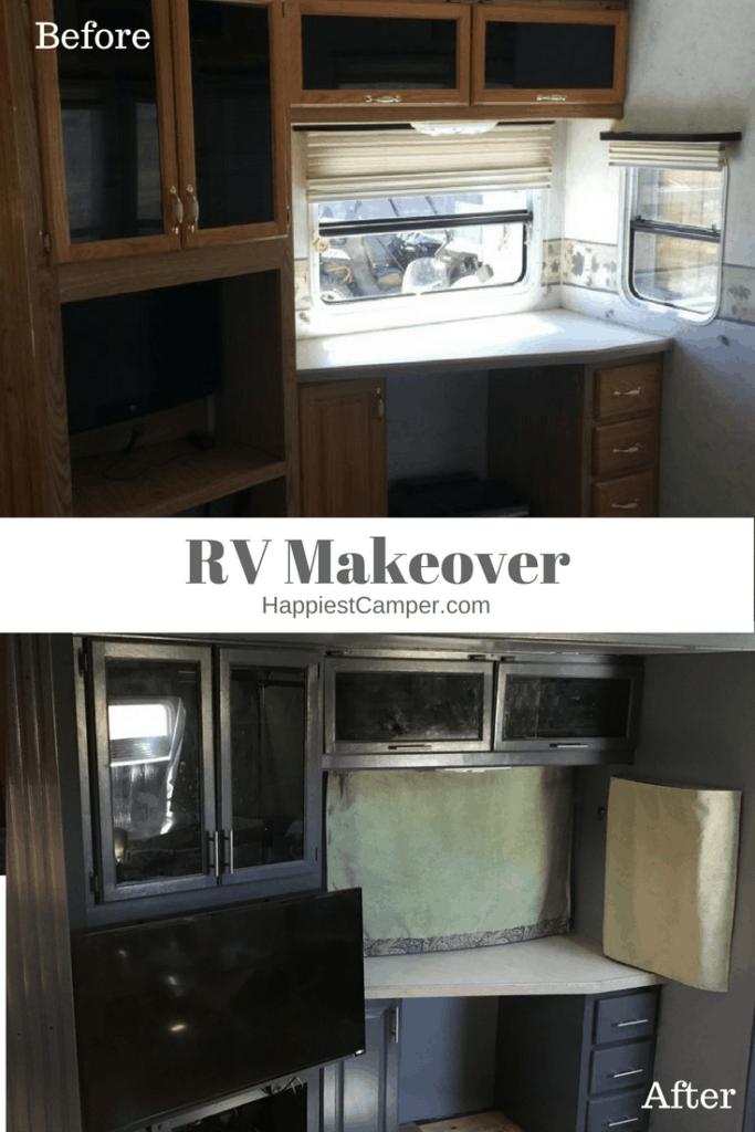 RV Makeover Before After Media Center