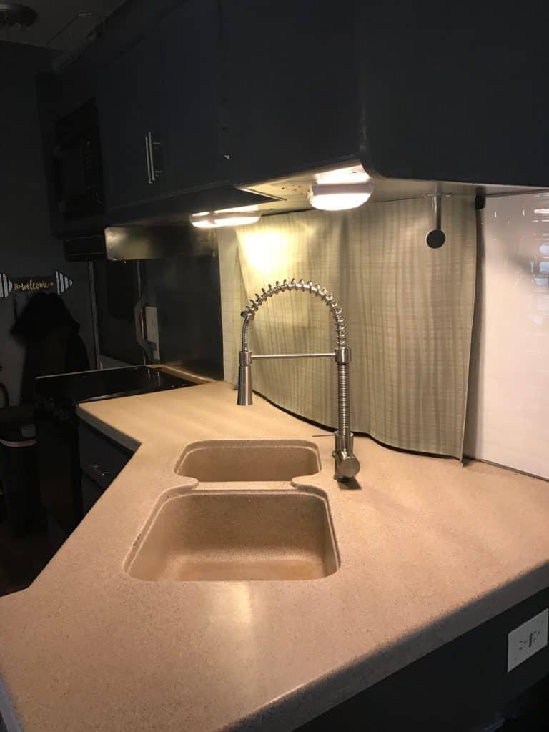 RV Makeover Kitchen