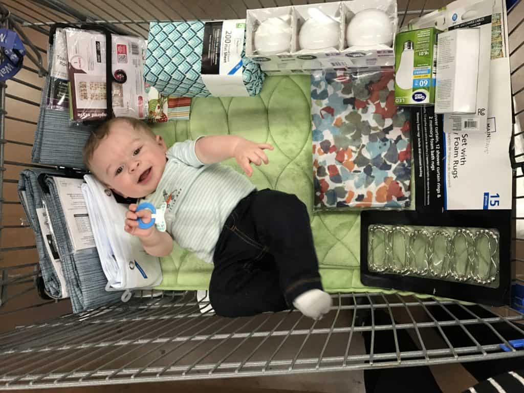 Shopping w Baby