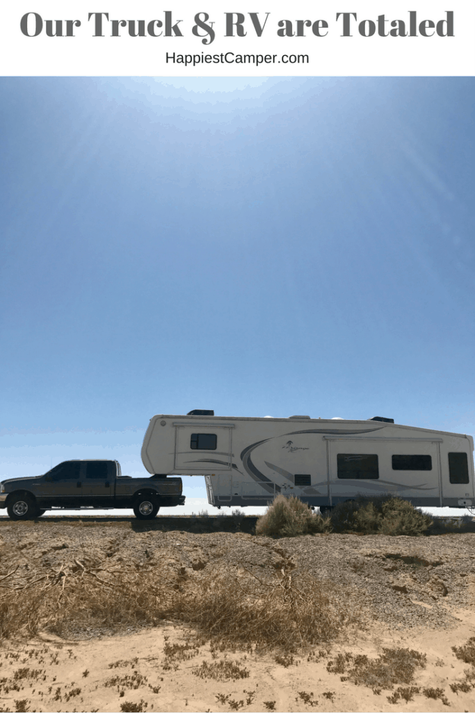 Truck & RV Totaled