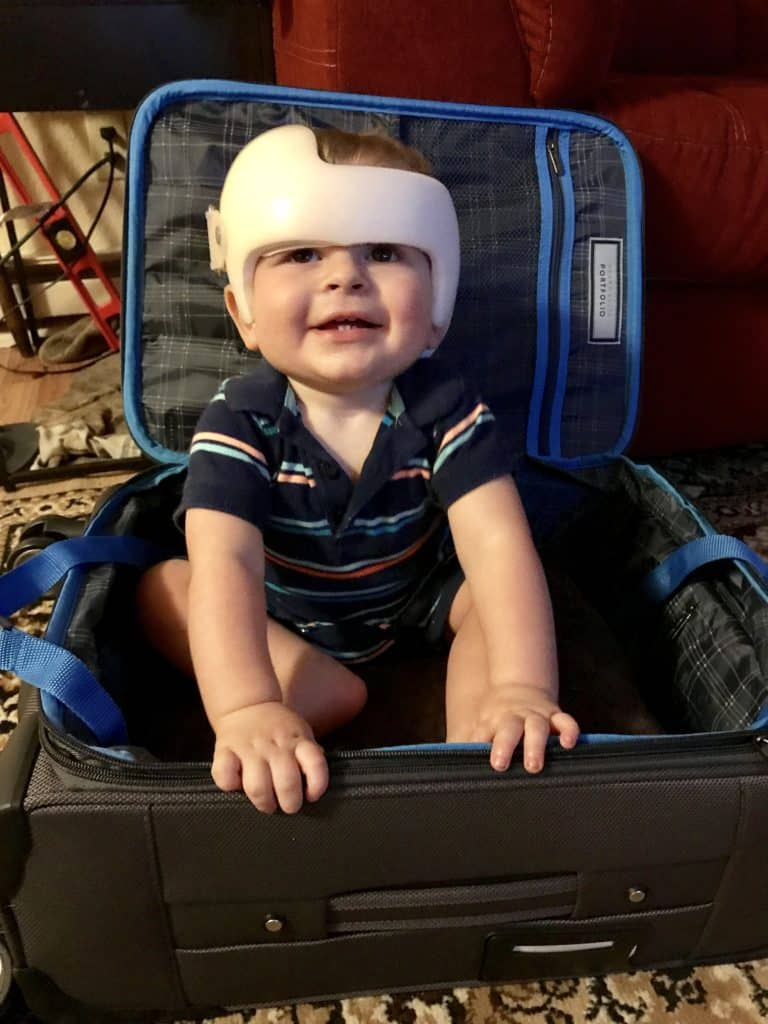 Cranial Helmet Baby Luggage