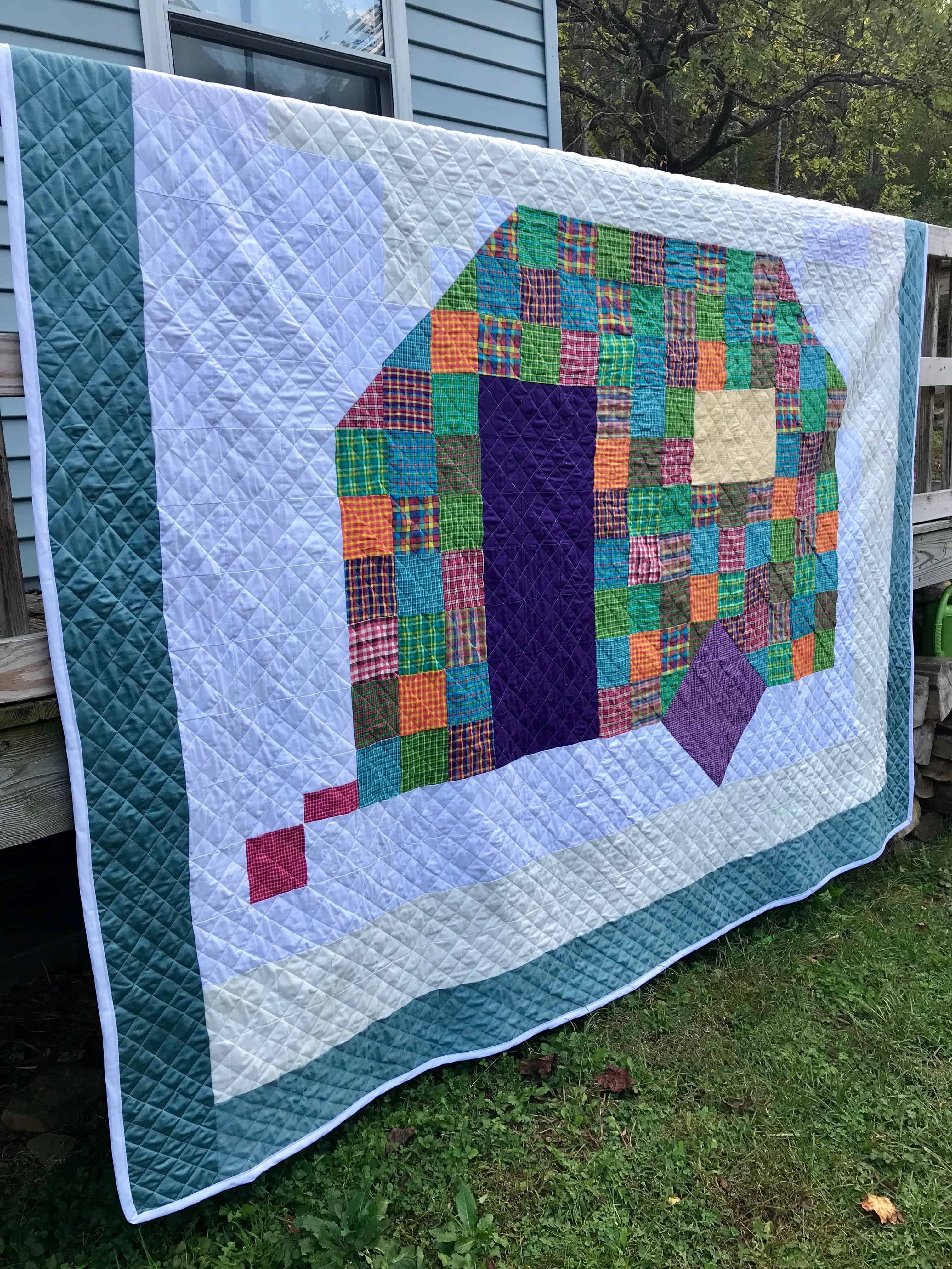 Roll King Size Pattern Quilt Jelly