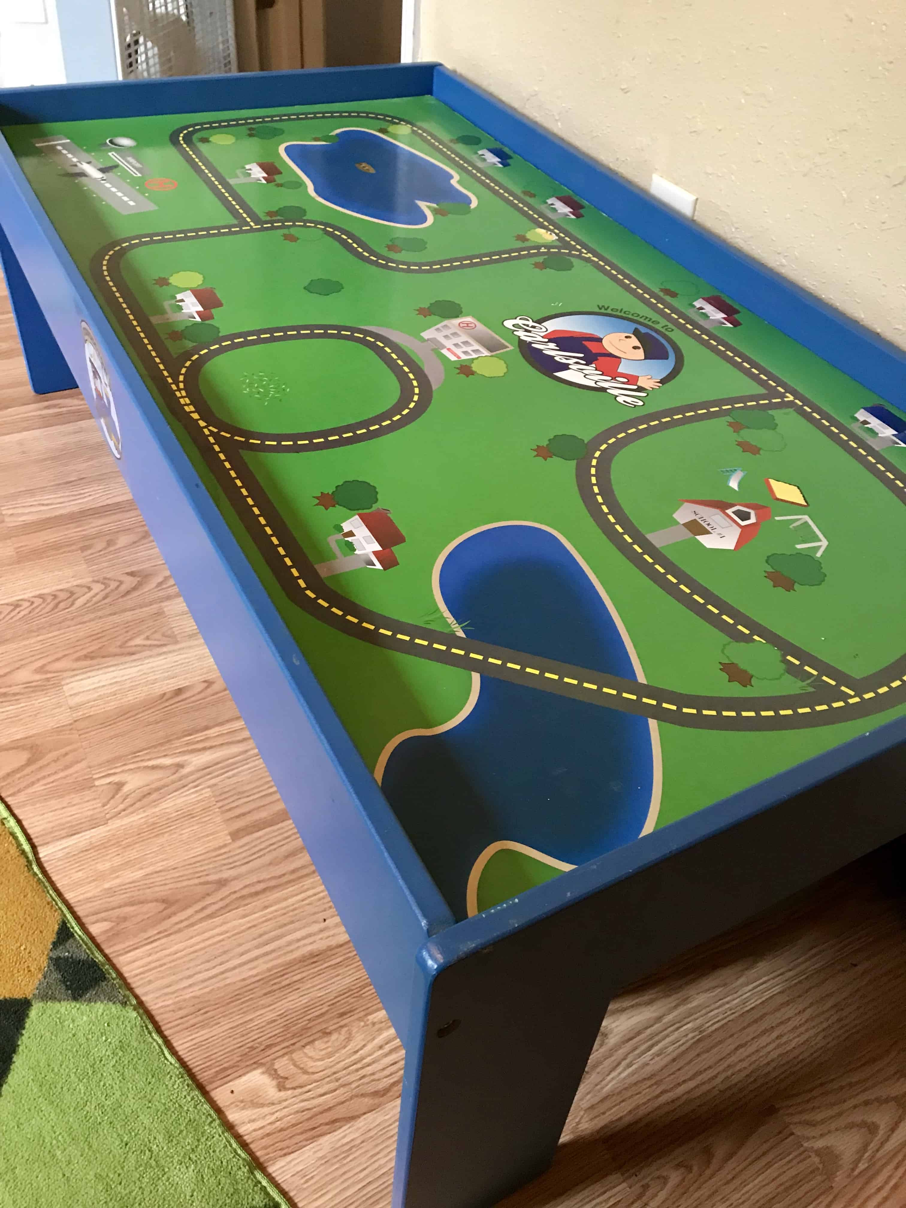 Train Table Makeover