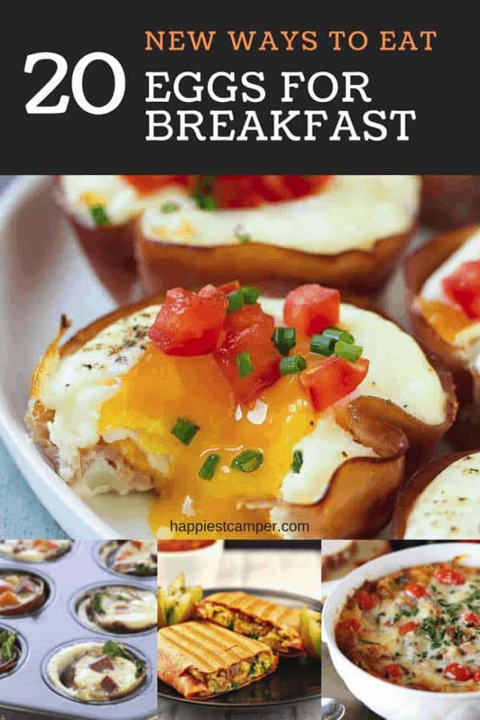 New ways for Breakfast Eggs