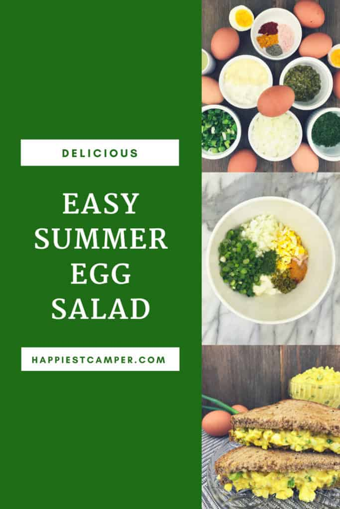 Easy Summer Egg Salad Recipe