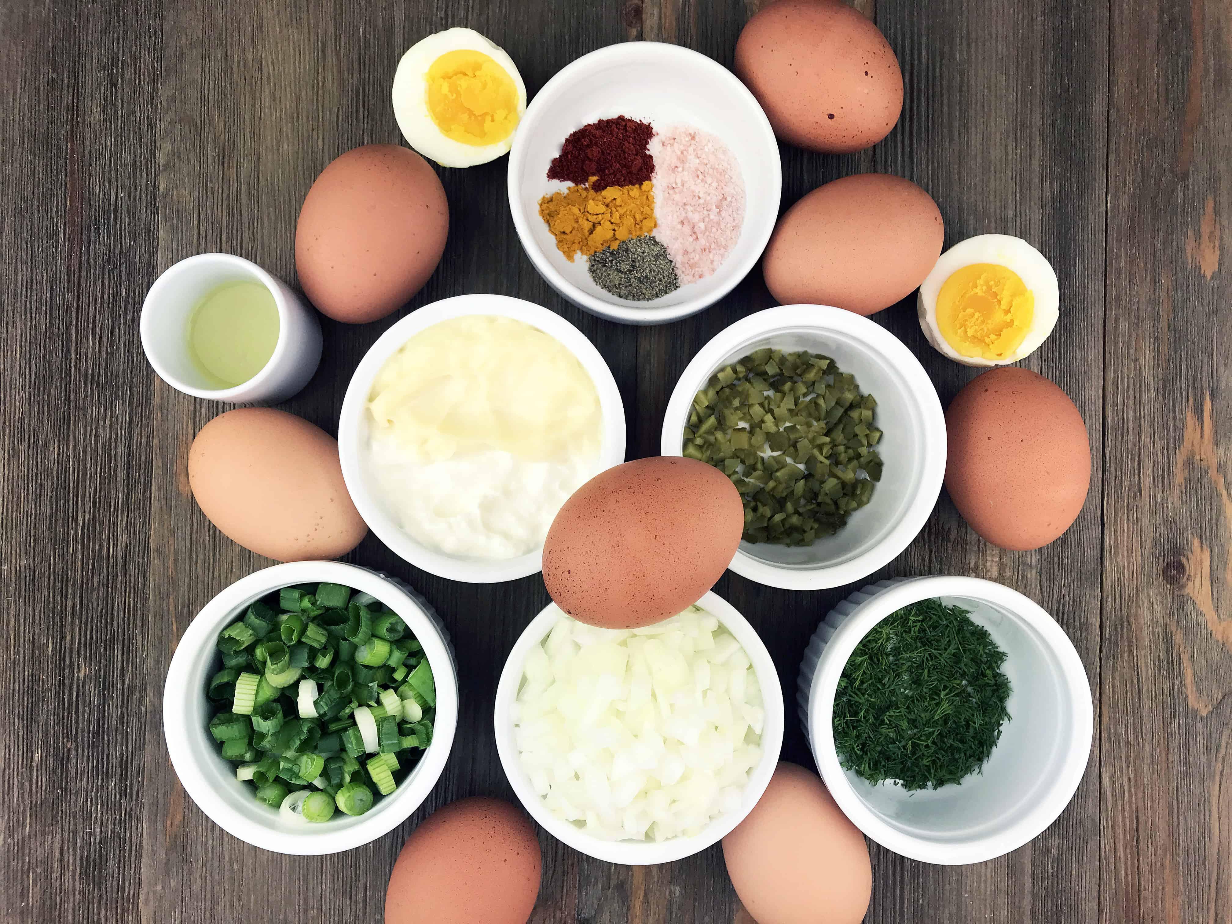 Summer Egg Salad Easy Recipe