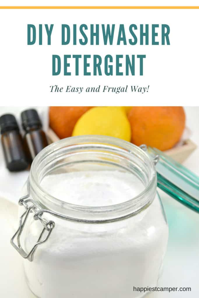 Dishwasher Detergent DIY Frugal Easy