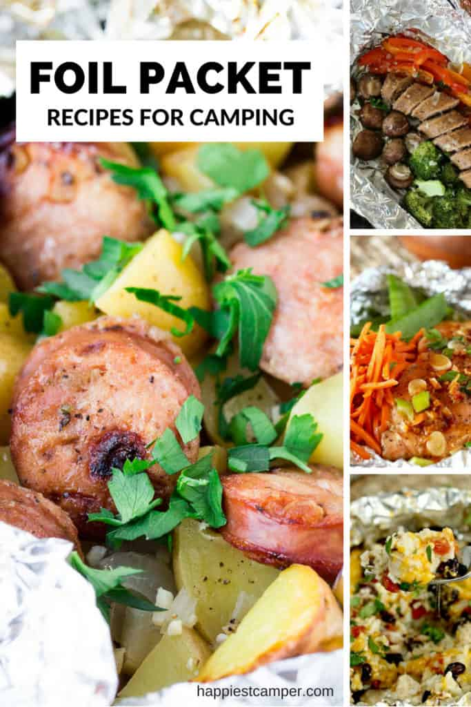 Foil Packet Recipes for Camping Meals