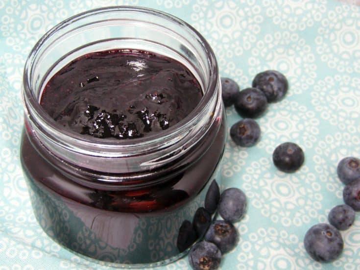 Blueberry Jam Jelly Instant Pot
