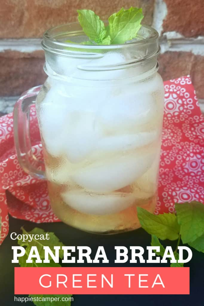 Copycat Panera Bread Green Tea