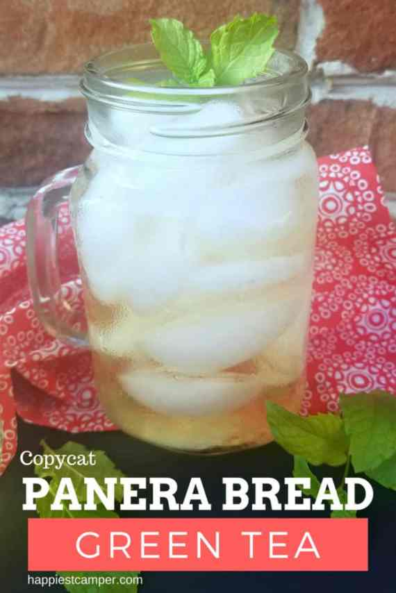 Copycat Panera Bread Green Tea