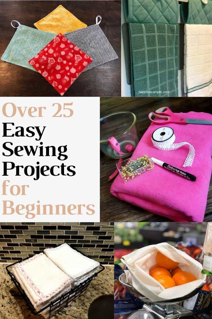 Mega List of Easy Sewing Projects