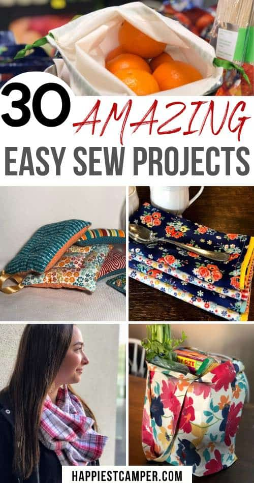30 Easy Sewing Projects