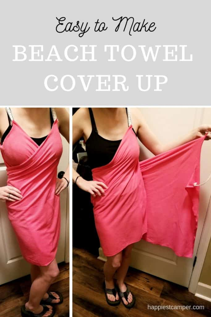 Easy Beach Towel Cover Up