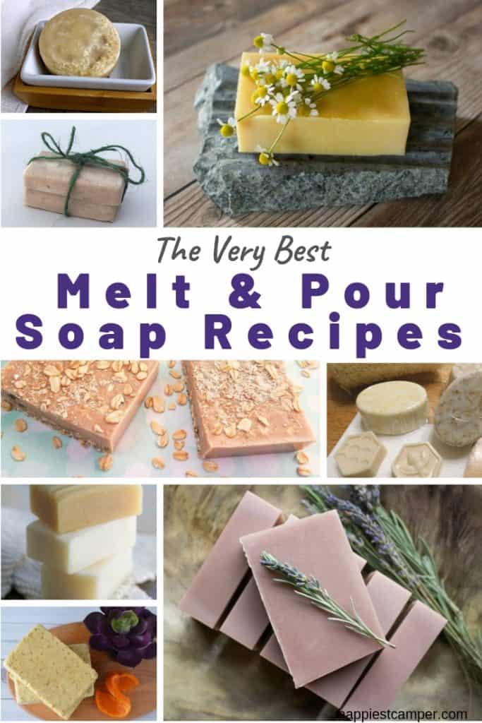 Best melt and pour soap recipes